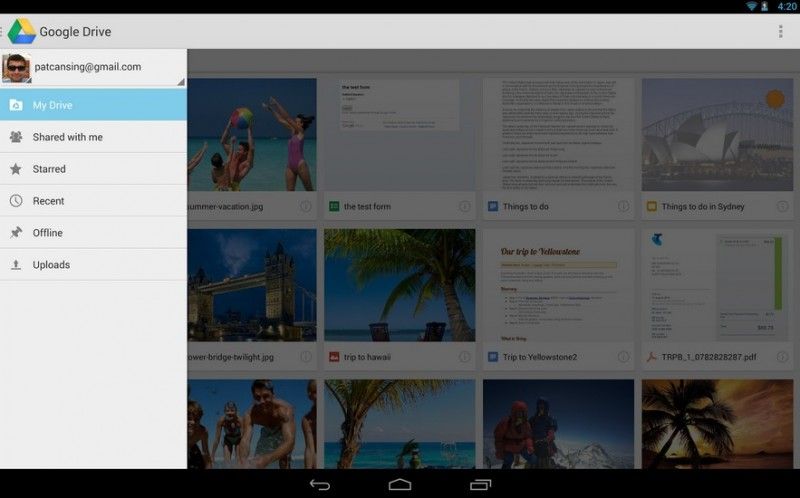 Google Drive   Applications Android sur Google Play