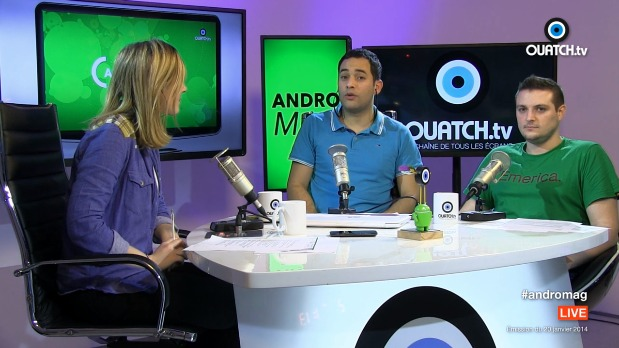- ANDROMAG S01E10   Moto X  Android et objets connectés au CES 2014   Vidéo Dailymotion(1)