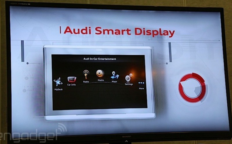 Audi Smart Display 10.2 inch Android tablet at CES(1)