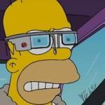Les Google Glass parodiées dans les Simpson