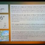 MyCastScreen – La météo, une photo en fond d'écran et des Flux RSS sur Chromecast
