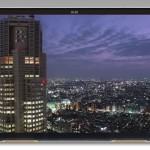 Le premier écran 4K pour tablette de 3840 x 2160 pixels présenté au Japon