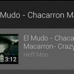 Youtube Mix  est disponible sur Android