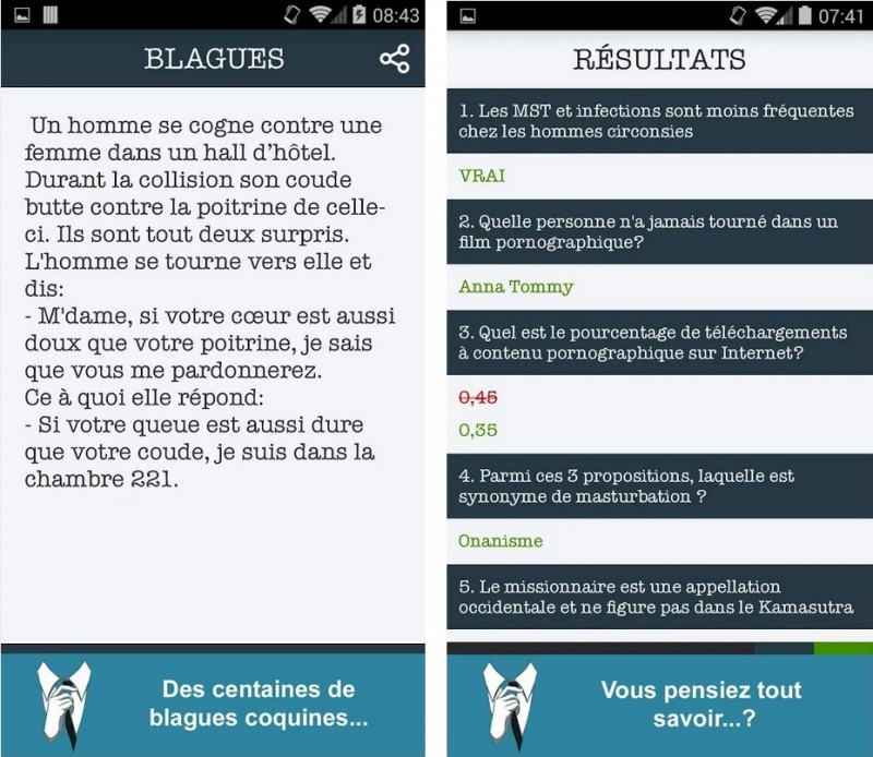 Les SEXperts  conseils   quiz   Applications Android sur Google Play(1)