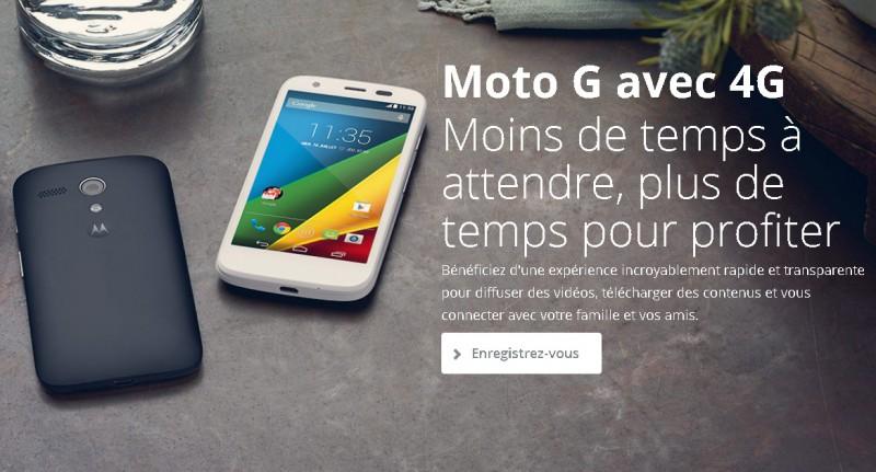 Moto G   Smartphone à prix abordable grande autonomie   Motorola