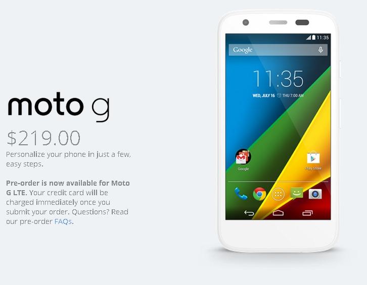 Moto G by Motorola   A Google Company