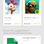 Google Play – Version web optimisée mobile disponible