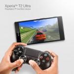 Xperia T2 Ultra Dual – La prise en charge de la manette DUALSHOCK 4 ?