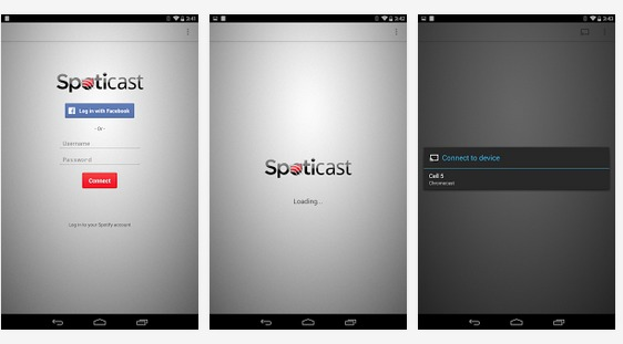 Spoticast   Applications Android sur GooglePlay