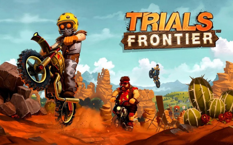Trials Frontier   Applications Android sur GooglePlay