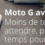 Moto G – La version 4G est officielle