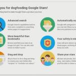 Google Stars – La gestion de favoris signée Google