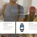 Android Wear – LG G Watch et Gear Live disponibles en France