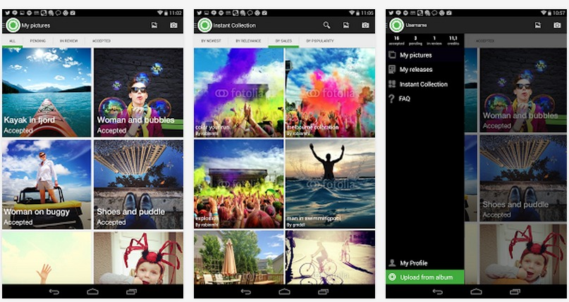 Fotolia Instant   Applications Android sur Google Play