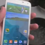 Samsung Galaxy S5 – Le test de l'eau bouillante en vidéo