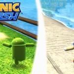 Sonic Dash – Offre limitée pour jouer avec Andronic, Bugdroid et Sonic fusionnés