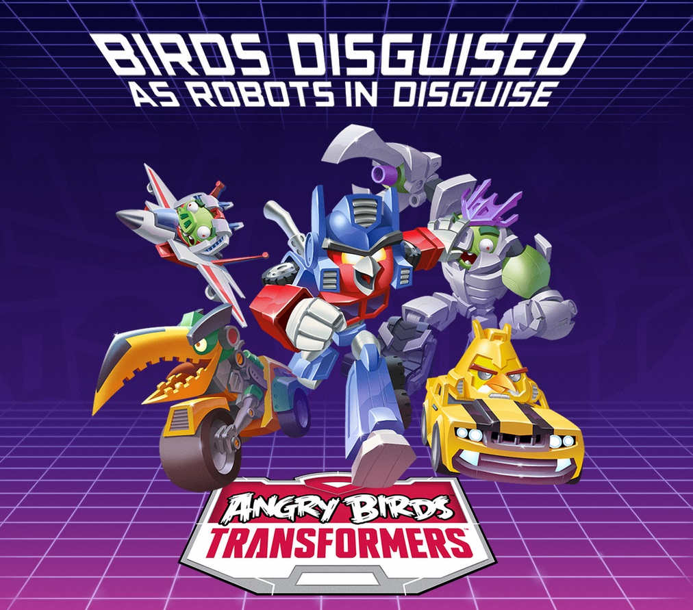 film Hasbro, Rovio vient d?annoncer Angry Birds Transformers