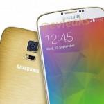 Le Samsung Galaxy F alias Galaxy prime en version dorée