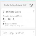Google Now – Ne zappez plus votre station de bus/metro #microsieste
