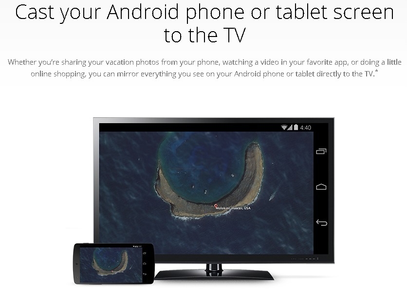 Apps that work with Chromecast
