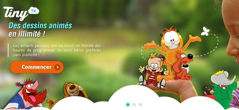 Chaîne TV pour enfants   Dessins animés en illimité   Tiny TV
