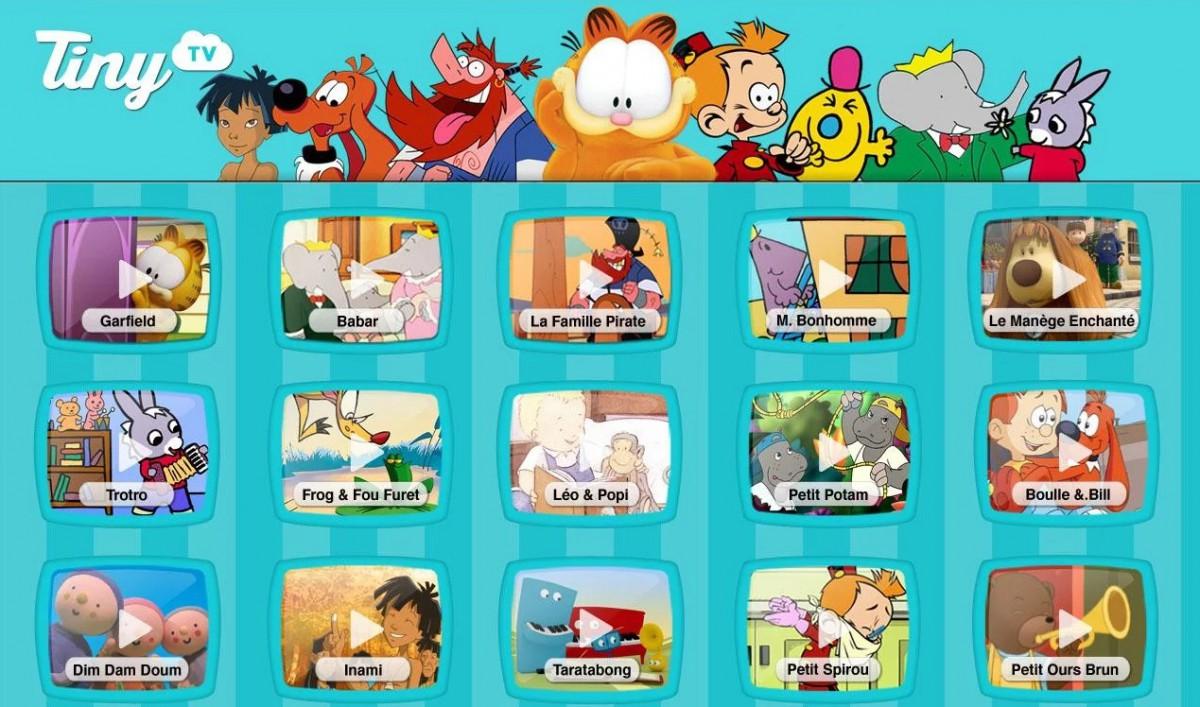 Tiny TV   100  dessins animés   Applications Android sur GooglePlay