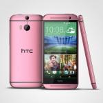 HTC One M8 – En rouge et rose bientôt disponible en Europe
