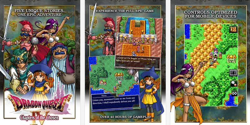 DRAGON QUEST IV   Applications Android sur GooglePlay