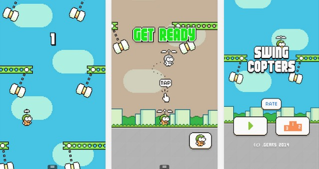 Swing Copters   Applications Android sur GooglePlay