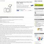 Le Samsung Galaxy Alpha apparait  à 549 livres au Royaume-Uni