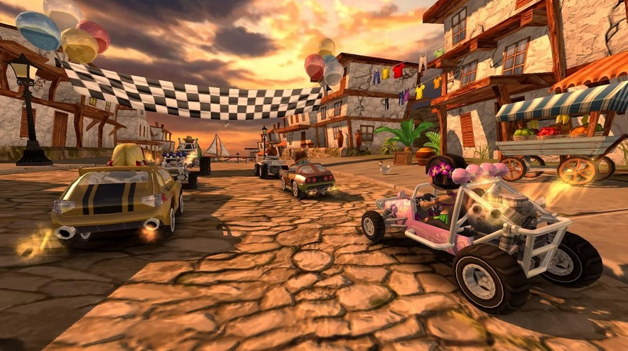 Beach Buggy Racing   Applications Android sur GooglePlay