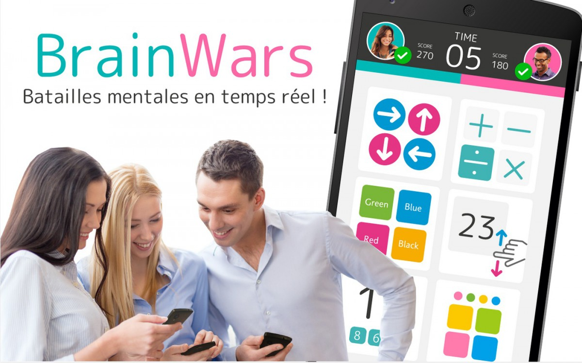 Brain Wars   Applications Android sur GooglePlay