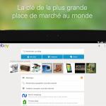 Mise à jour de l'application Ebay pour android