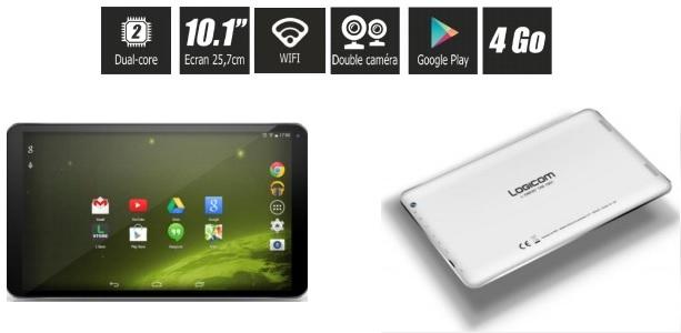 la tablette logicom l ement 1001 annonc e en exclu chez carrefour android franceandroid france. Black Bedroom Furniture Sets. Home Design Ideas