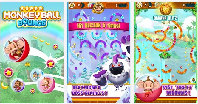 Super Monkey Ball Bounce   Applications Android sur Google Play