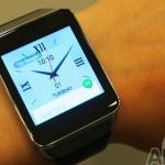 Samsung smartwatch avec capteur d'empreinte et paiement sans contact