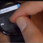 Android Wear – Un prototype de clavier Microsoft