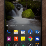 Next Lock Screen – Le lanceur d'applications Microsoft