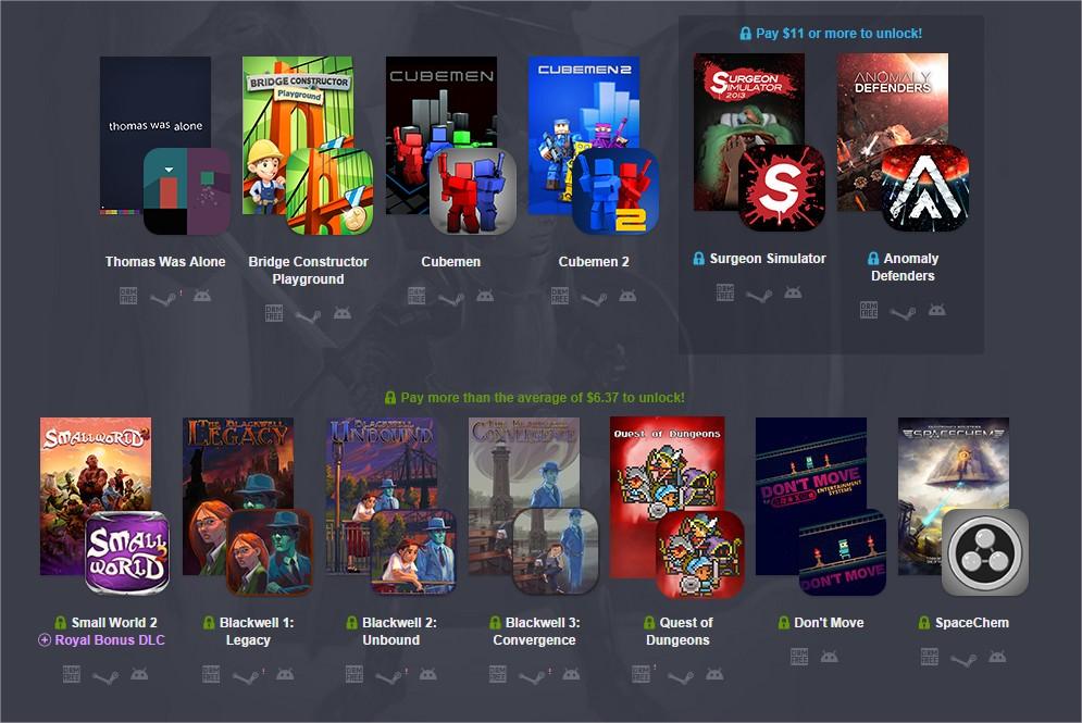 humble bundle 11 3 nouveaux jeux compatibles pc et android maj de l 39 offre bonplan android. Black Bedroom Furniture Sets. Home Design Ideas