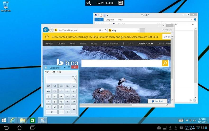 Microsoft Remote Desktop Beta   Applications Android sur GooglePlay