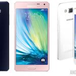 Samsung Galaxy A3 et A5 – Annonces officielles