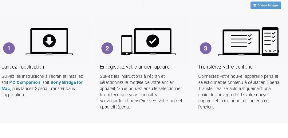 Xperia Transfer   Passez à Sony   Sony Smartphones  France