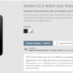LG G Watch – En promo à 99€ sur Google Play