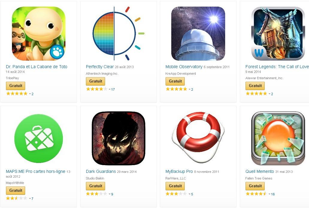 Amazon.fr  Applis pour Android