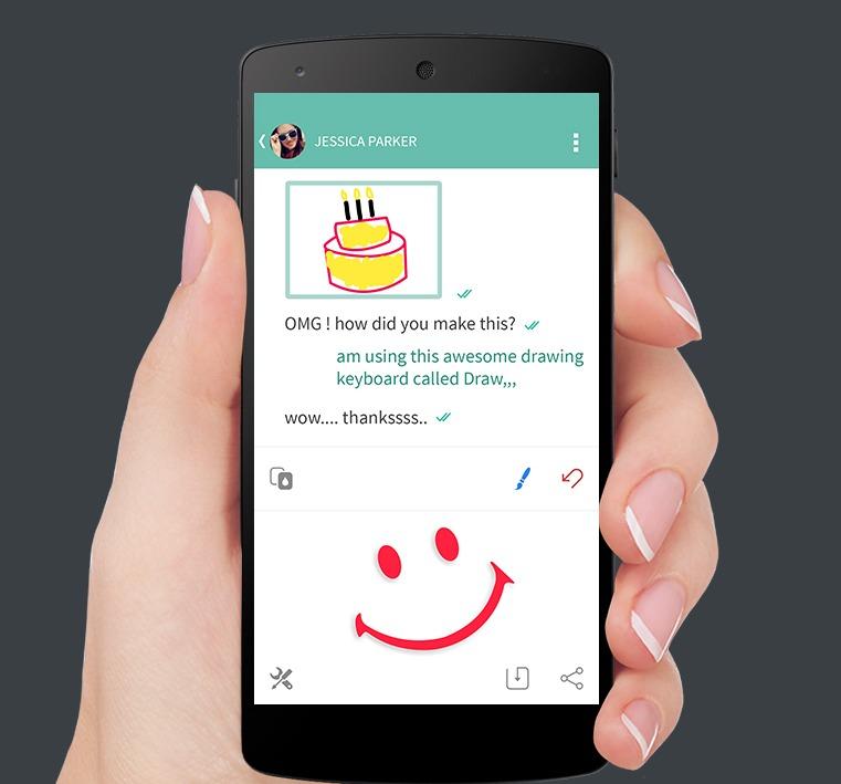 Appli Pour Dessiner Sur Les Photos draw - une application pour dessiner au lieu d'écrire - android