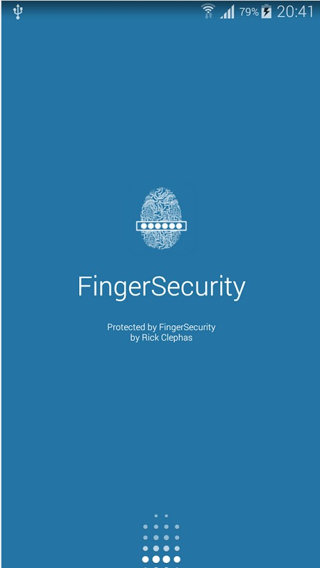 FingerSecurity   Applications Android sur GooglePlay
