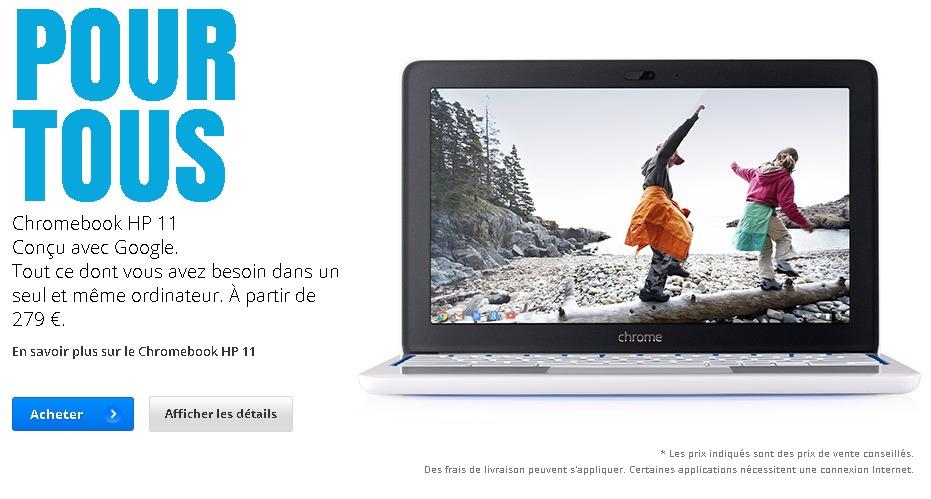 Présentation du nouveau Chromebook