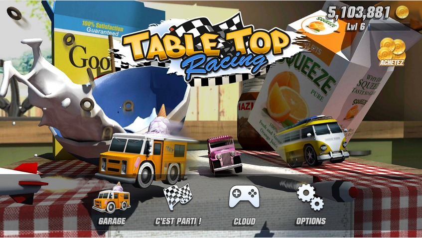 Table Top Racing   Applications Android sur Google Play