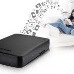 Toshiba Canvio AeroCast – Disque dur sans fil avec lecteur de carte SD