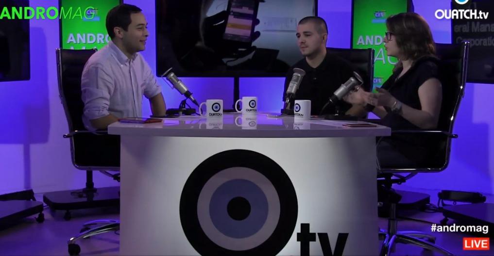 ANDROMAG S02E10   LG  avec la G Flex 2  Acer et Asus lancent le CES 2015   Vidéo Dailymotion